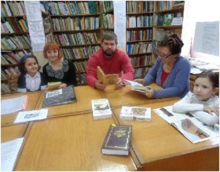 Пятигорская библиотека №5 флэш моб